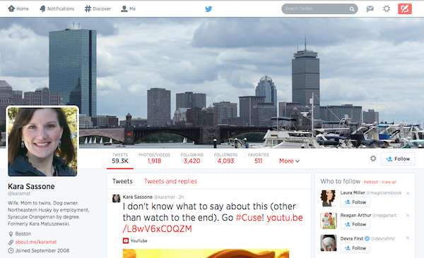 How to add a Twitter header photo