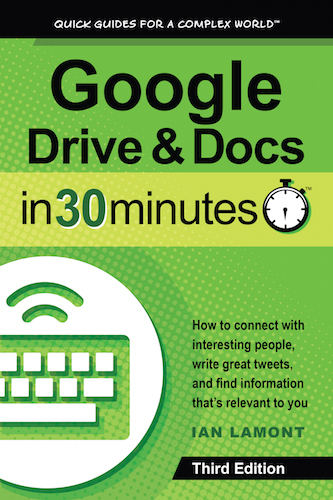 Google Drive & Docs In 30 Minutes book